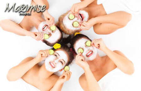 Pamper Day Birmingham for your maximise hen party