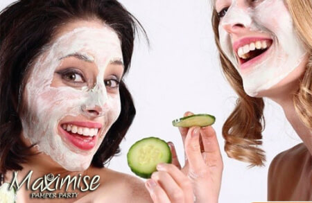 Pamper Party with a Twist! Birmingham for your maximise hen party