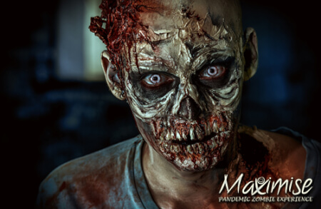 Pandemic Zombie Experience Birmingham for your maximise stag party