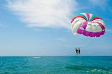 Parachute ascensionnel  pour mon EVG à Nice | Enterrement de vie de garçon | idée enterrement de vie de garçon | activité enterrement de vie de garçon | idée evg | activité evg