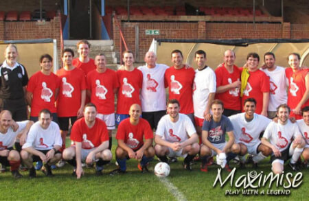 Play With A Legend for my Norwich(Maximise) Stag Do | Maximise Stag Weekends