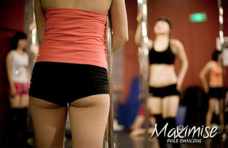 Pole Dancing Session Liverpool for my Liverpool Hen Party | Maximise Hen Weekends