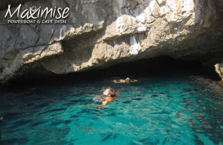 Power Boating & Cave Swimming  for my Costa Brava(Maximise) Hen Party | Maximise Hen Weekends