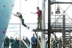 Power Jump für meinen JGA in Lyon   Junggesellenabschied