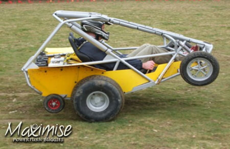 Powerturn Buggies Manchester for your stag weekend with stag Maximise