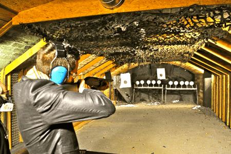 Shooting 23 balles pour mon EVG à Cracovie | Enterrement de vie de garçon | idée enterrement de vie de garçon | activité enterrement de vie de garçon | idée evg | activité evg
