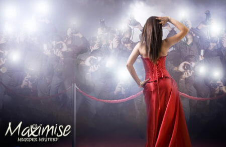 Red Carpet Revenge Murder Mystery Party in Swansea for your hen party with hen maximise