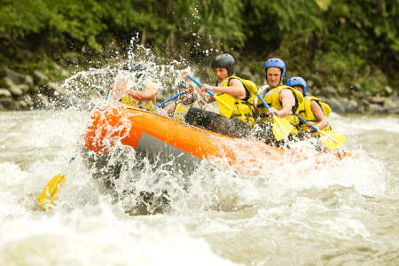 River Rafting for my Split Hen Party | Maximise Hen Weekends