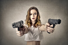 Schießen 50 für meinen JGA in Ljubljana | Junggesellenabschied