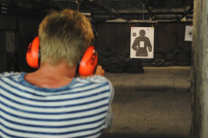 Schießen für meinen JGA in Vilnius | Junggesellenabschied
