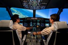 Simulateur de vol pour mon EVG à Toulouse | Enterrement de vie de garçon | idée enterrement de vie de garçon | activité enterrement de vie de garçon | idée evg | activité evg