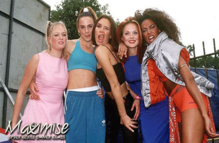 Spice Girls Dance Experience Bournemouth for your maximise hen party