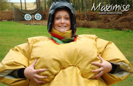Sumo Wrestling  for my Nottingham(Maximise) Hen Party | Maximise Hen Weekends
