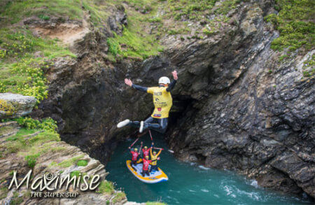 Super SUP & Coasteering Newquay