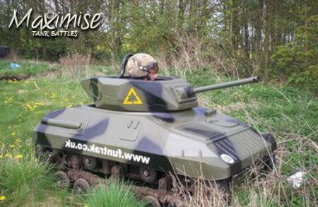 Mini Tank Driving Stag Weekend Leeds