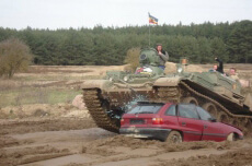 Tank Demolition Day  for my Berlin Stag Do | Maximise Stag Weekends