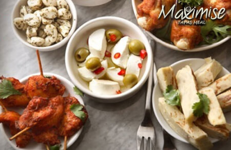 Tapas Meal Chester for your maximise hen party