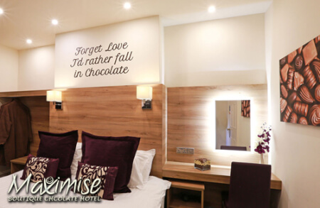 The Chocolate Box Hotel for my Bournemouth hen party