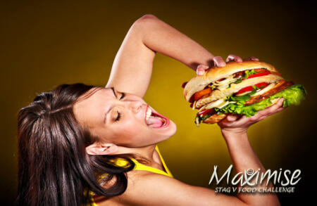 The Ultimate Stag Burger Challenge Newcastle for your stag weekend with stag Maximise