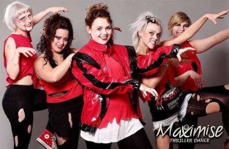 Thriller Dance Hen Party Birmingham for your maximise hen party