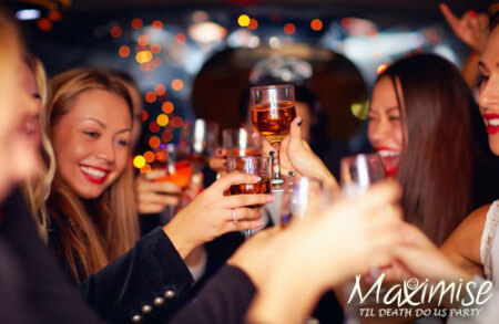 Til Death Do Us Party for my Cardiff(Maximise) Hen Party | Maximise Hen Weekends