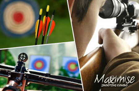 Triple Target Shooting for my Nottingham(Maximise) Stag Do | Maximise Stag Weekends