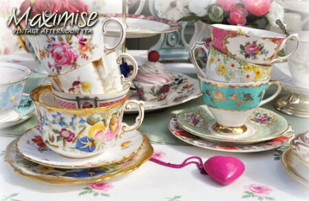 Vintage Afternoon Tea Leeds for my Leeds(Maximise) Hen Party | Maximise Hen Weekends