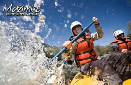 White Water Rafting cardiff for your maximise stag party