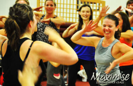 Zumba in York for your hen party with hen maximise